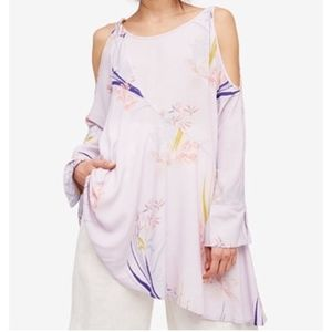 Free People Lilac Clear Skies Printed Tunic/Dress